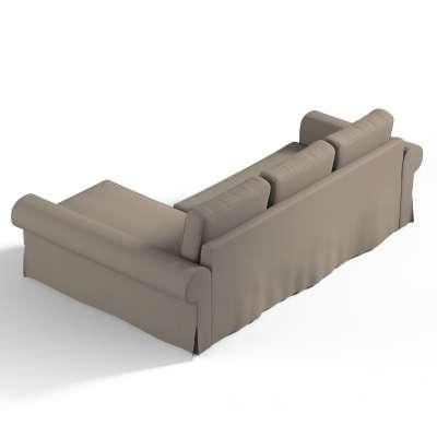 Backabro trekk 3 seter sovesofa med sjeselong<br/>Høyre og venstre fra kolleksjonen Cotton Panama, Stoffets bredde: 702-28