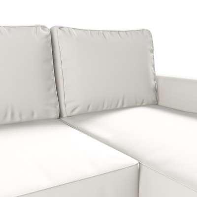 Backabro trekk 3 seter sovesofa med sjeselong<br/>Høyre og venstre fra kolleksjonen Cotton Panama, Stoffets bredde: 702-34