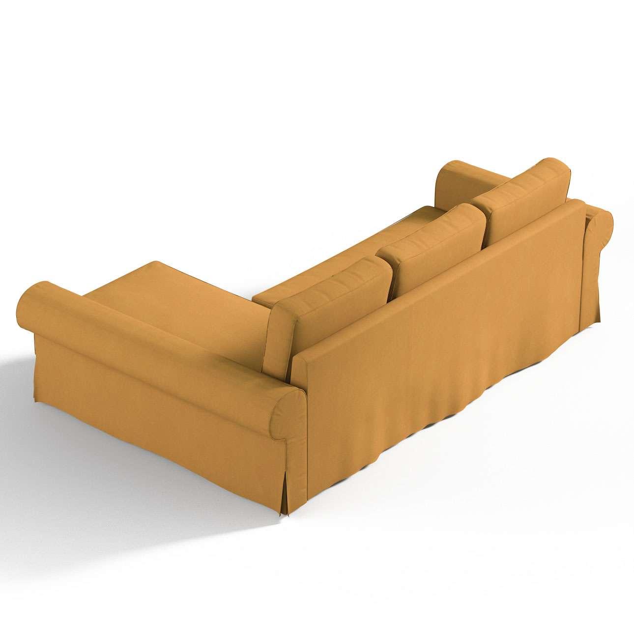 Pokrowiec na sofę Backabro rozkładaną z leżanką w kolekcji Etna, tkanina: 705-04