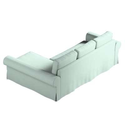 Pokrowiec na sofę Backabro rozkładaną z leżanką w kolekcji Living, tkanina: 160-86