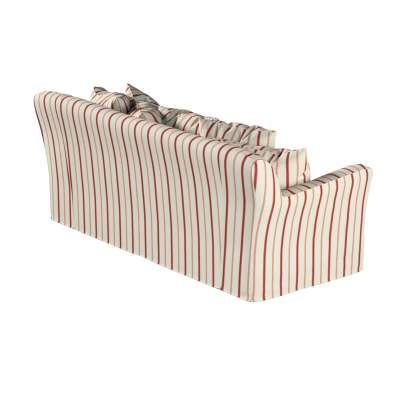 Pokrowiec na sofę Tomelilla 3-osobową nierozkładaną w kolekcji Avinon, tkanina: 129-15