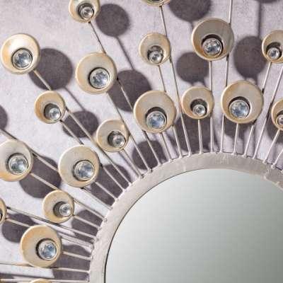 Tükör  Peacock 80cm