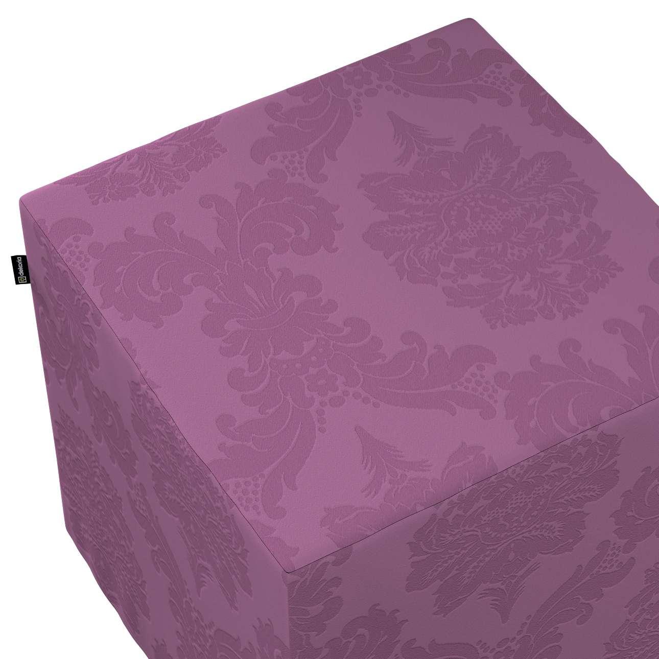 Sitzwürfel von der Kollektion Damasco, Stoff: 613-75