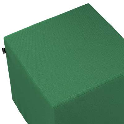 Taburetka tvrdá, kocka V kolekcii Loneta, tkanina: 133-18