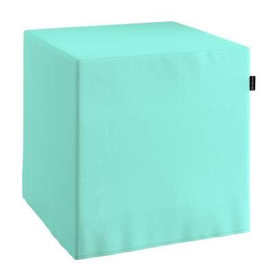 Pufa kostka w kolekcji Loneta, tkanina: 133-32