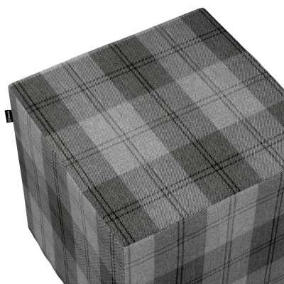 Sedák Cube - kostka pevná 40x40x40 v kolekci Edinburgh, látka: 115-75