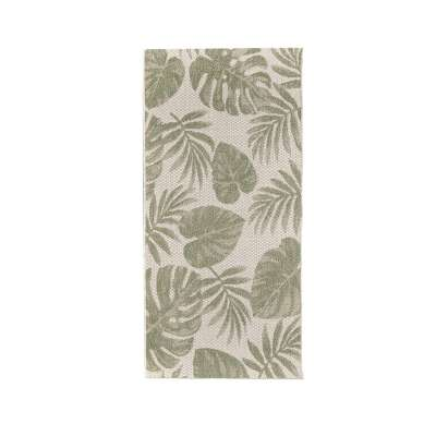 Teppich Cottage wool/ jungle green 67x130cm