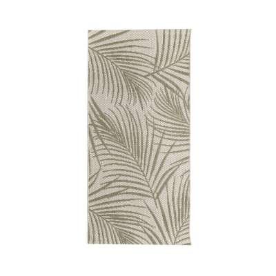 Teppich Cottage II wool/ jungle green 67x130cm