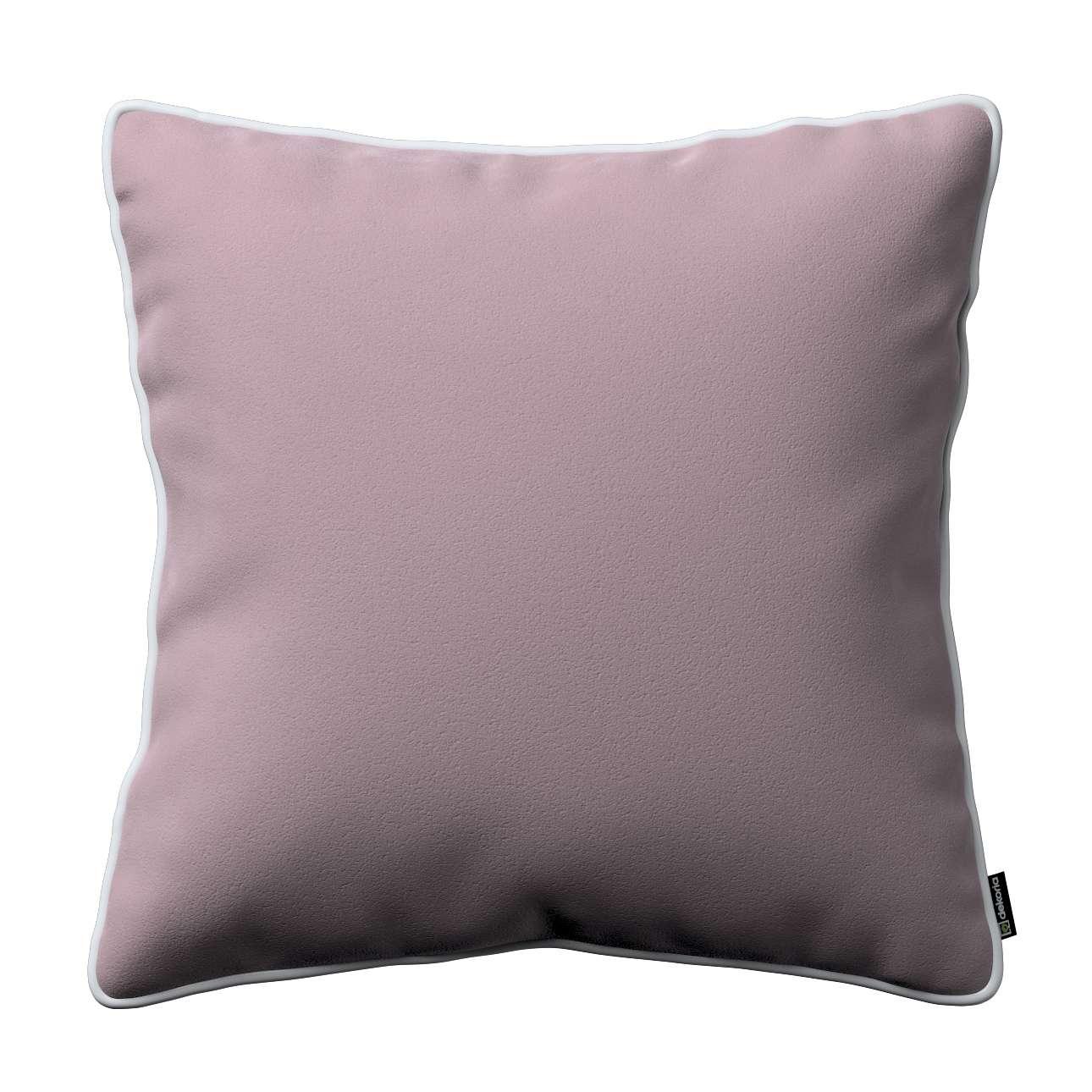 Poszewka Laura na poduszkę w kolekcji Velvet, tkanina: 704-14