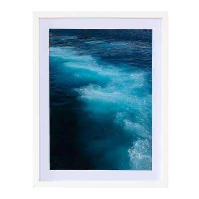 Billede med ramme Blue Water I 30x40cm