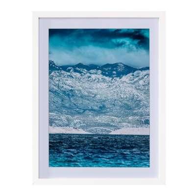 Billede med ramme Blue Water II 30x40cm