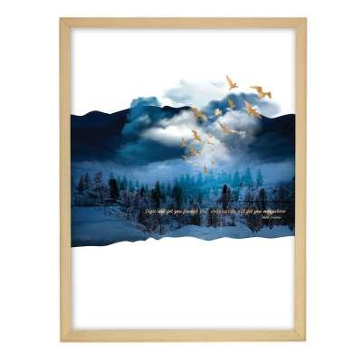 Obraz Imagination 30x40cm gold&navy