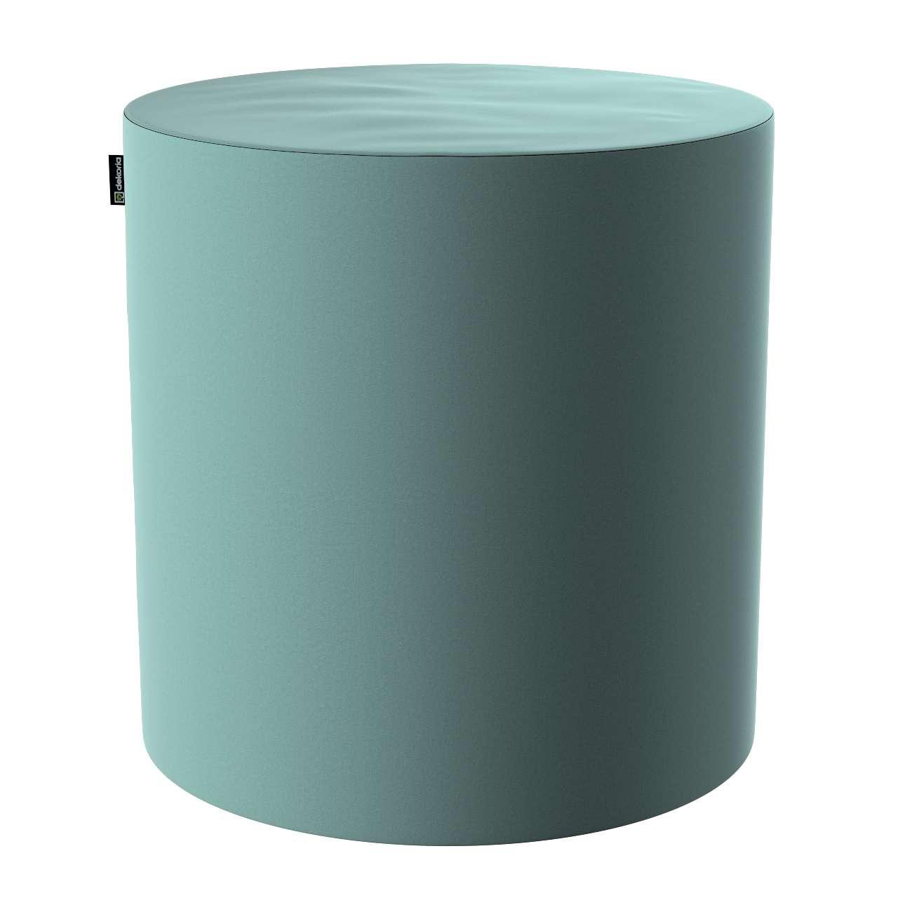 Pouf Barrel von der Kollektion Velvet, Stoff: 704-18