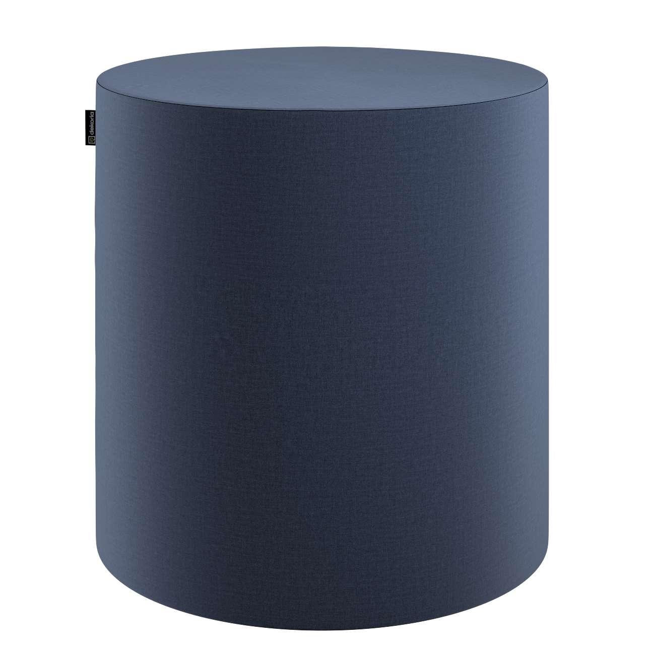 Sedák Barrel- válec pevný,  d40cm, výška 40cm v kolekci Ingrid, látka: 705-39