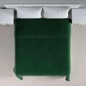 Sengeteppe quiltet<br/>i rombe i velour