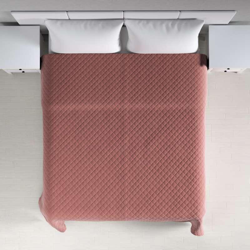 Ágytakaró káró szteppeléssel a kollekcióból Velvet  Lakástextil, Dekoranyag: 704-30