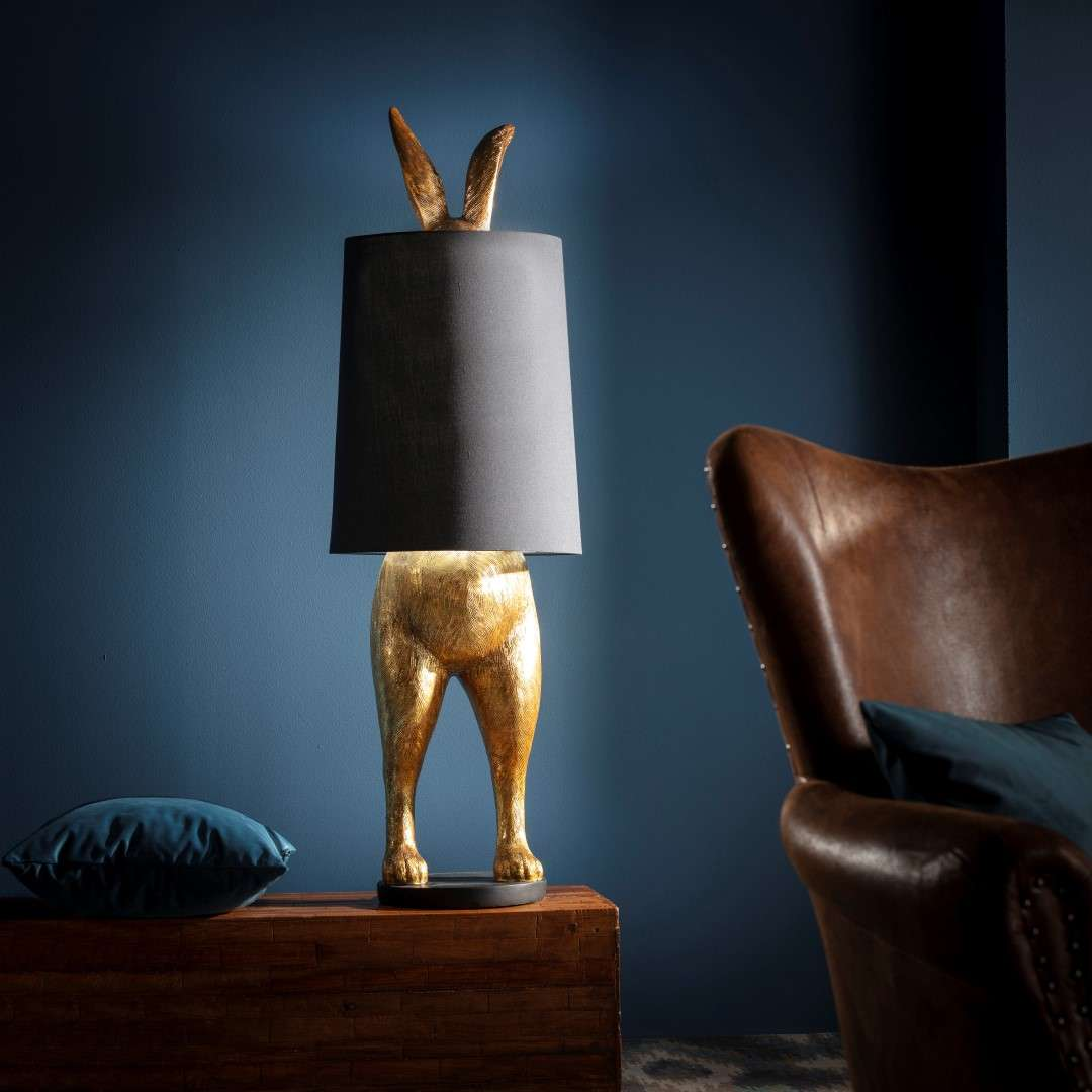 Lampa Gold Rabbit XL wys. 117cm
