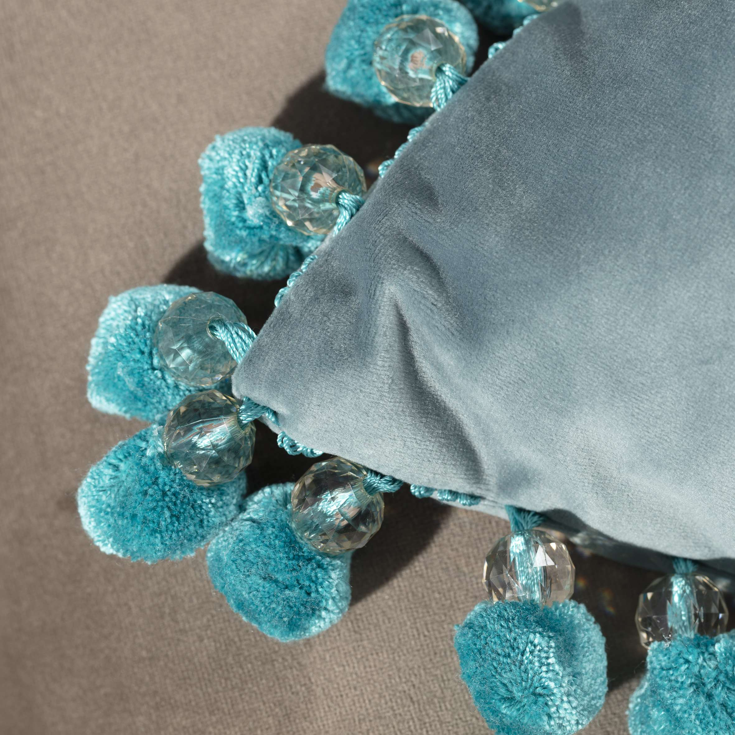 Potah Glamour 43x43cm v kolekci Velvet, látka: 704-18