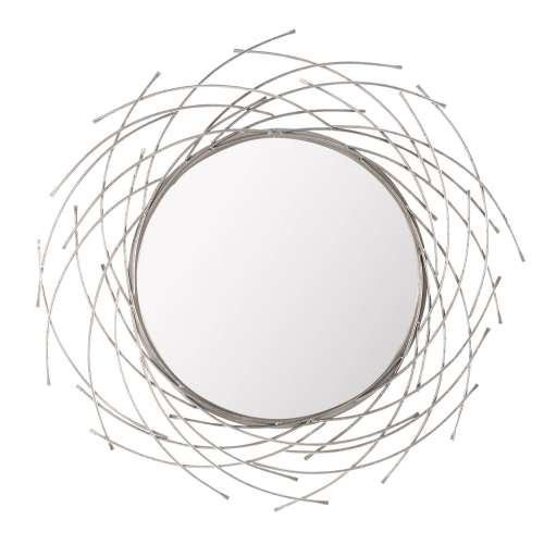 Spiegel Rays silver 103cm