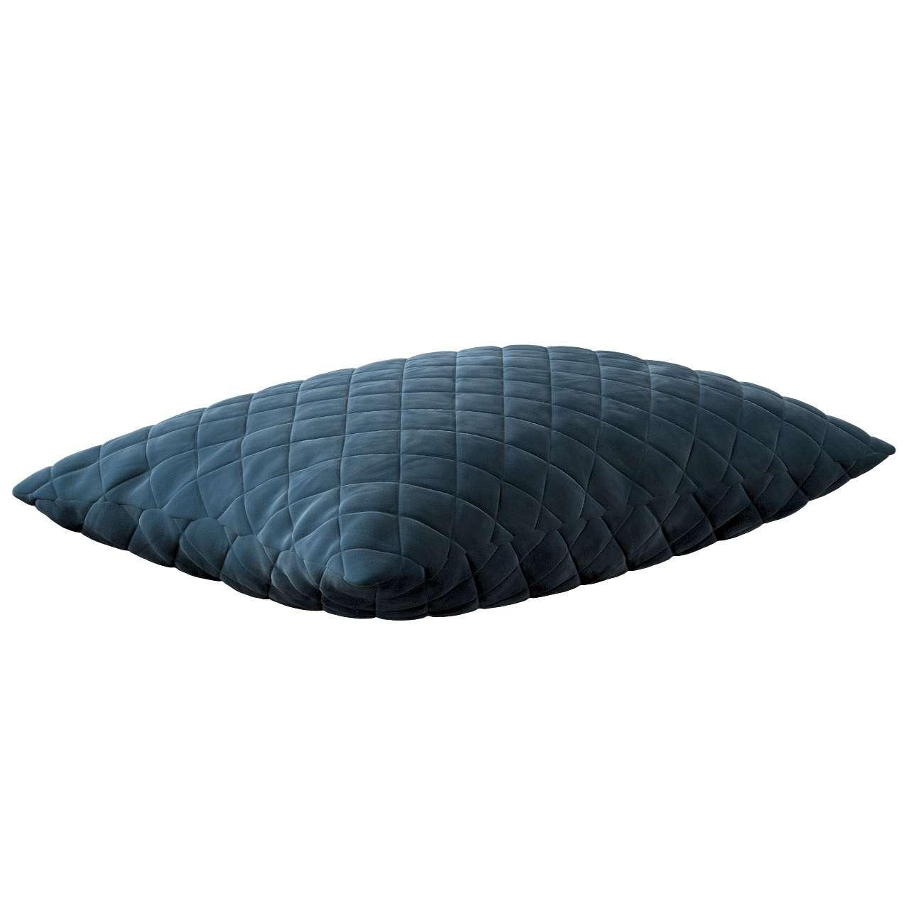 Dekortayvinės pagalvėlės užvalkalas Kinga rombiukais 60 x 40 cm kolekcijoje Velvetas/Aksomas, audinys: 704-16