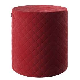 Quilted pouf seat Velvet