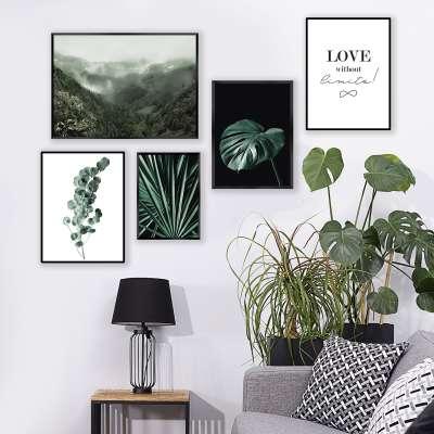 Poster Eucalyptus Emerald Green