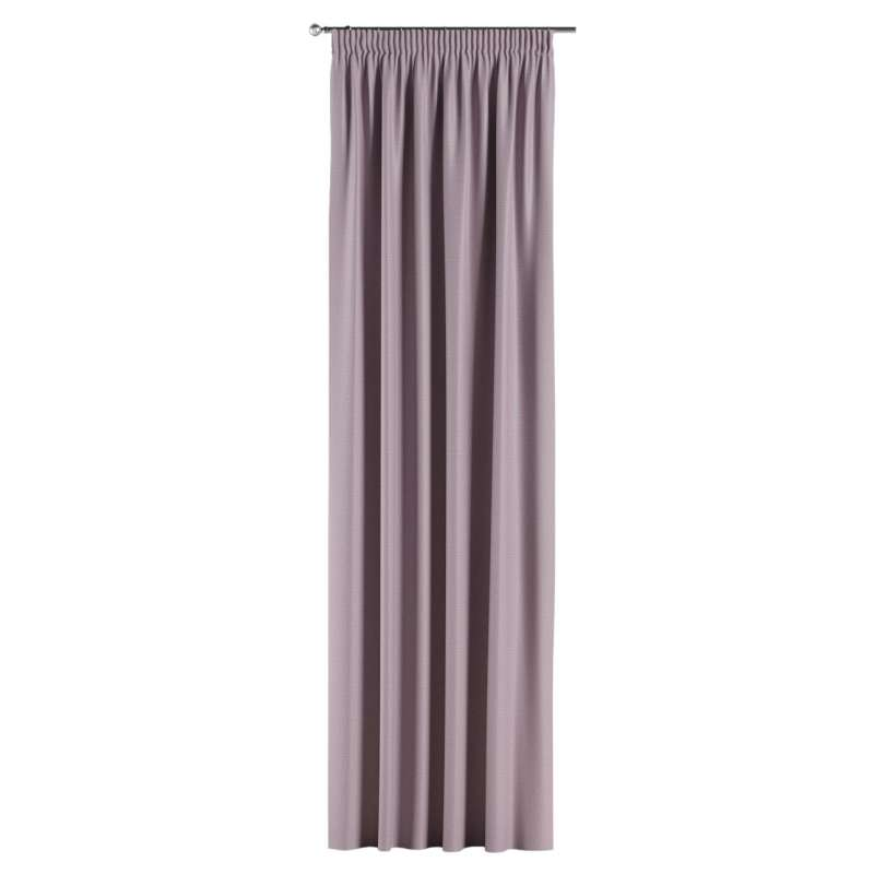 Blackout pencil pleat curtains in collection Blackout, fabric: 269-60