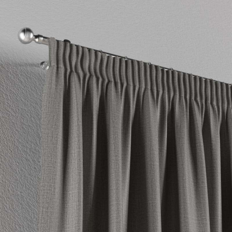 Blackout pencil pleat curtains in collection Blackout, fabric: 269-63