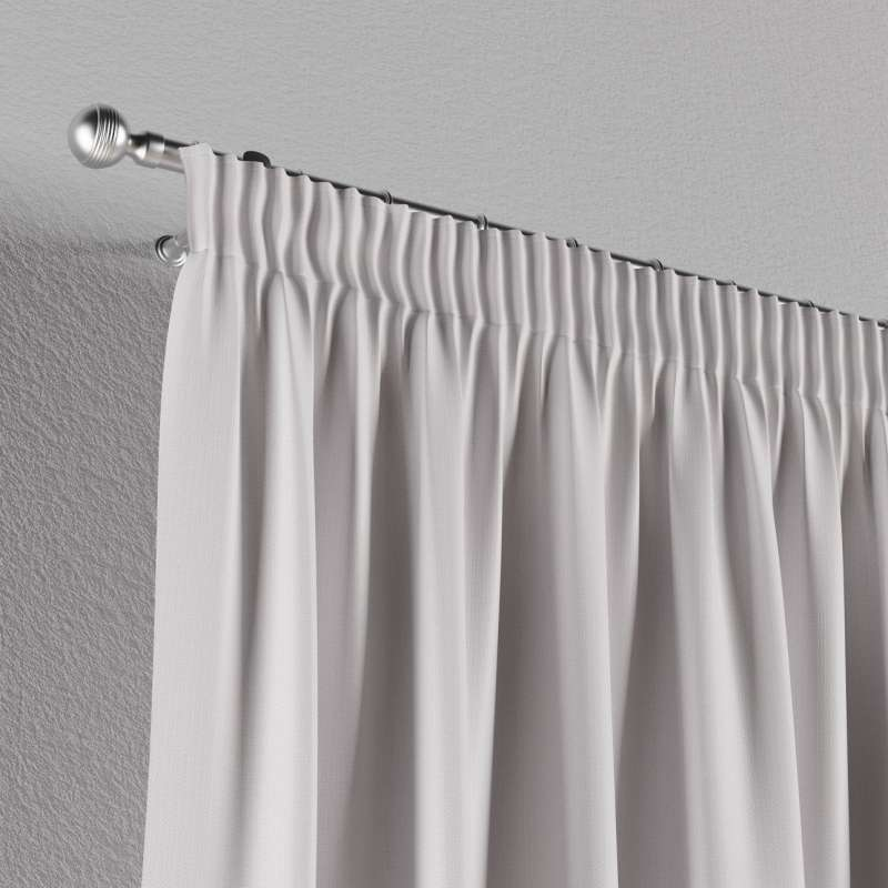 Blackout pencil pleat curtains in collection Blackout, fabric: 269-65
