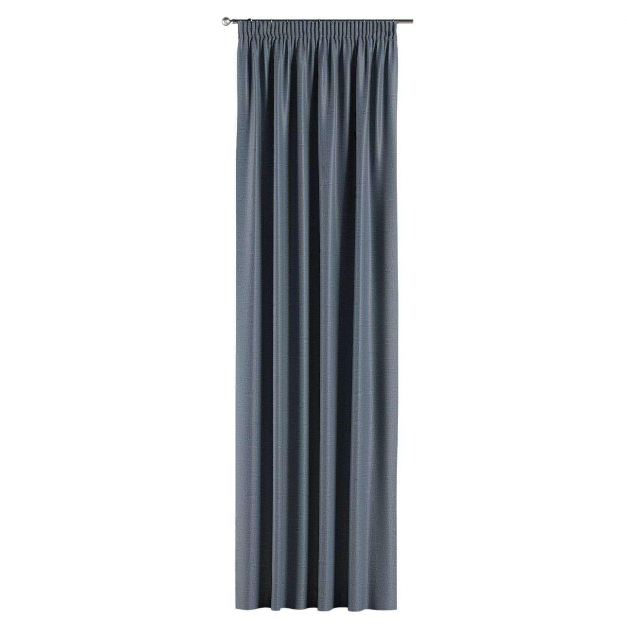 Lystet gardin med rynkebånd 1 stk. fra kolleksjonen Blackout (mørklegging), Stoffets bredde: 269-67