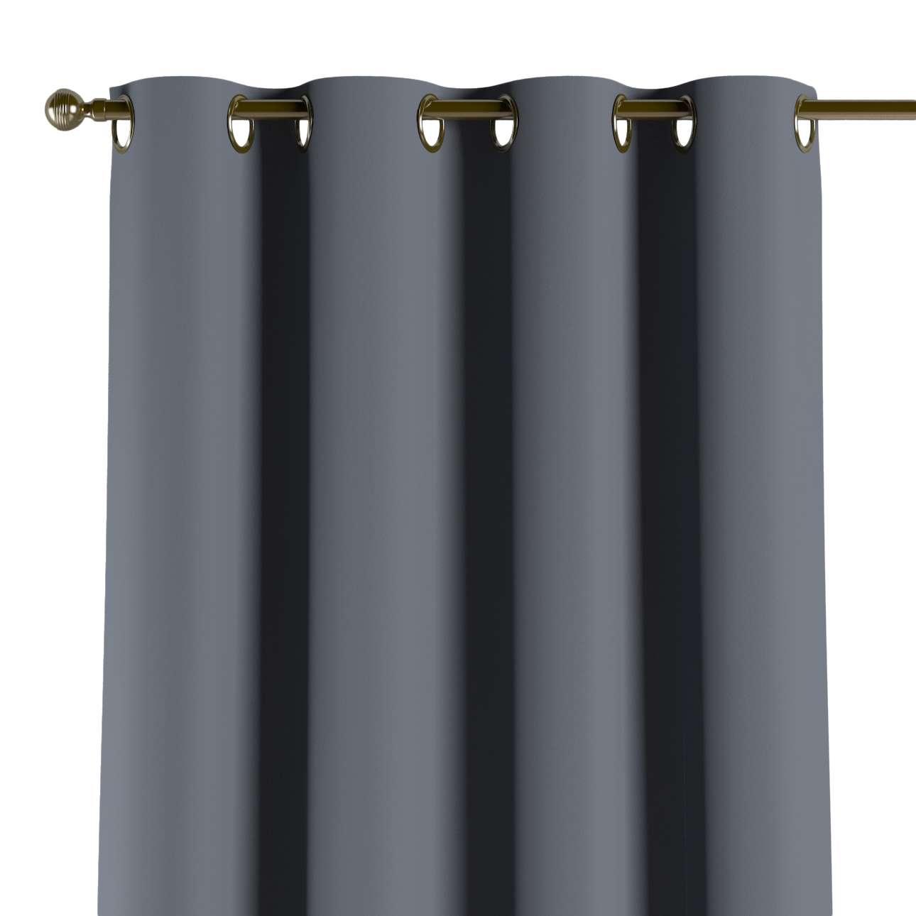 Lystet gardin med maljer 1 stk. fra kolleksjonen Blackout (mørklegging), Stoffets bredde: 269-76