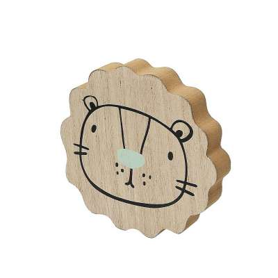 Dekoracja Wooden Lion