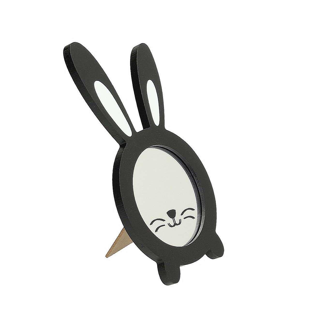 Fotorahmen Rabbit schwarze