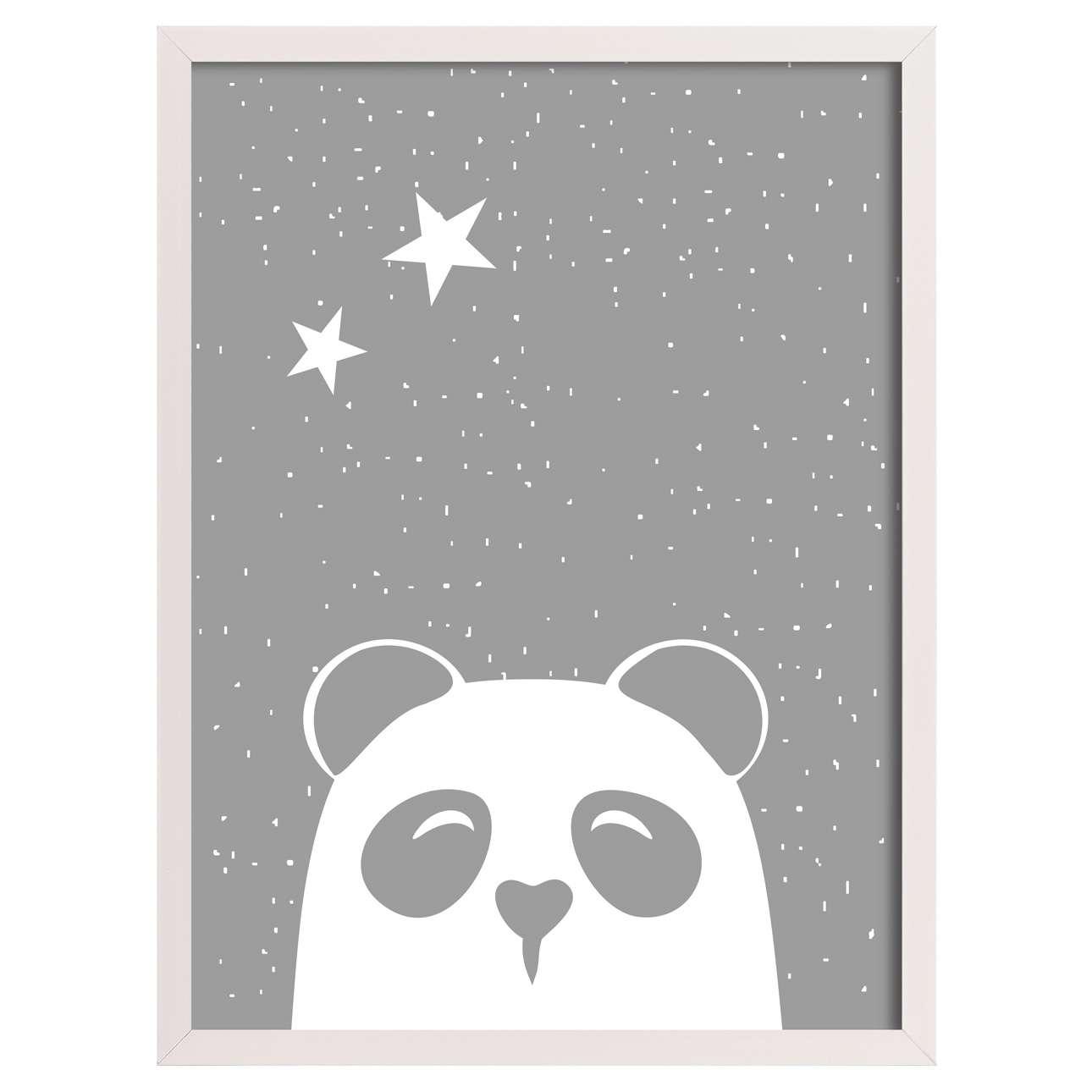 Obrazek Funny Band panda II 30x40cm