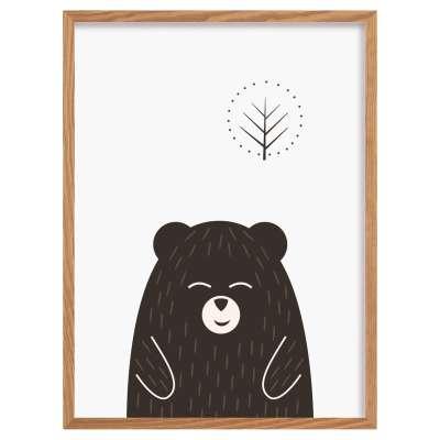 Obrazek Scandi Forest bear I 30x40cm