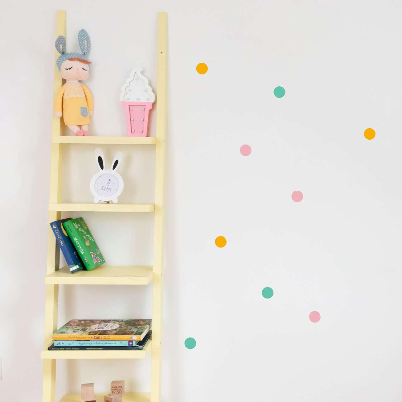 Zestaw naklejek Mini Dots happy tone