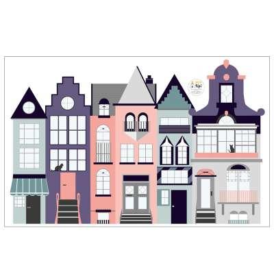Naklejka Houses I