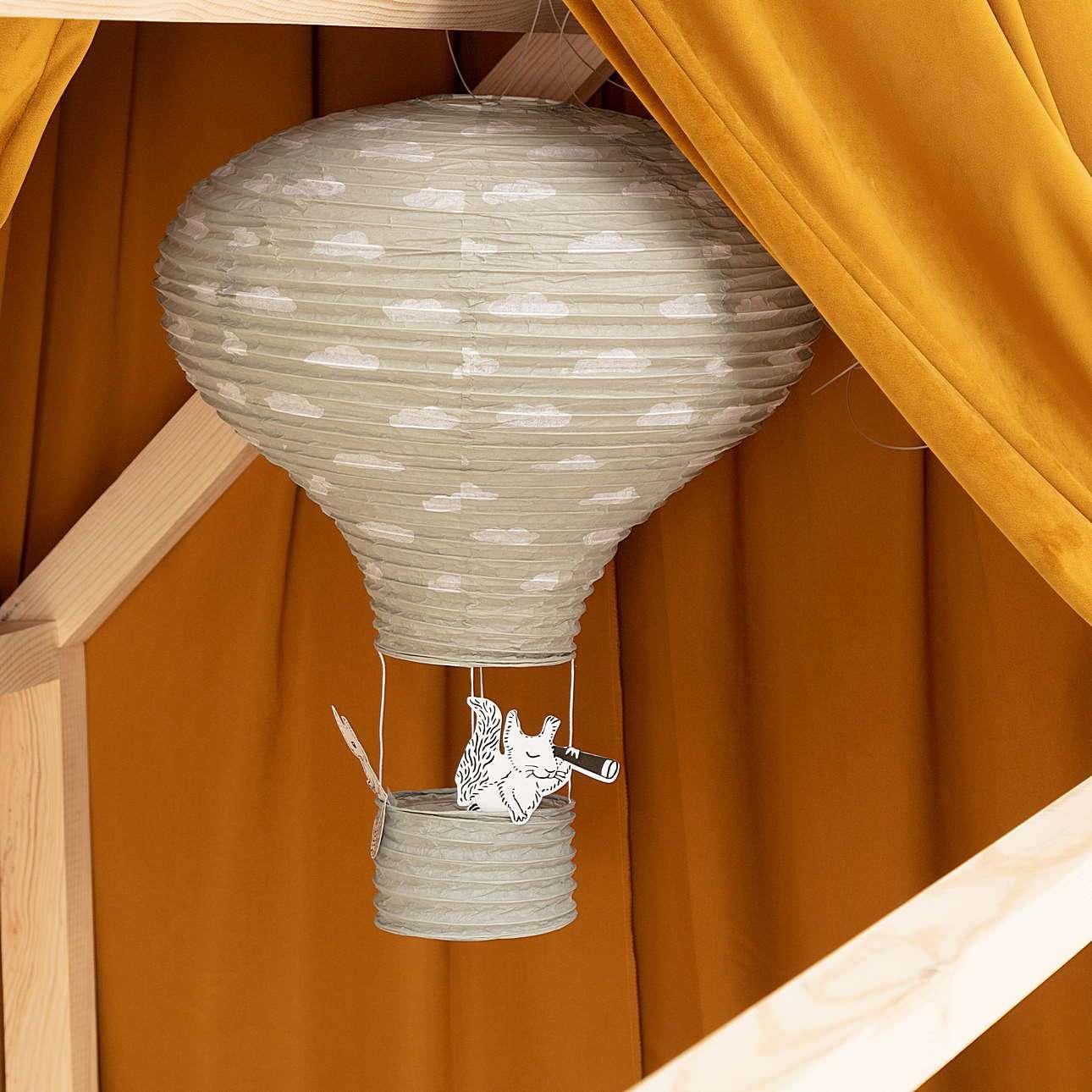Hängedekoration Balloon gray