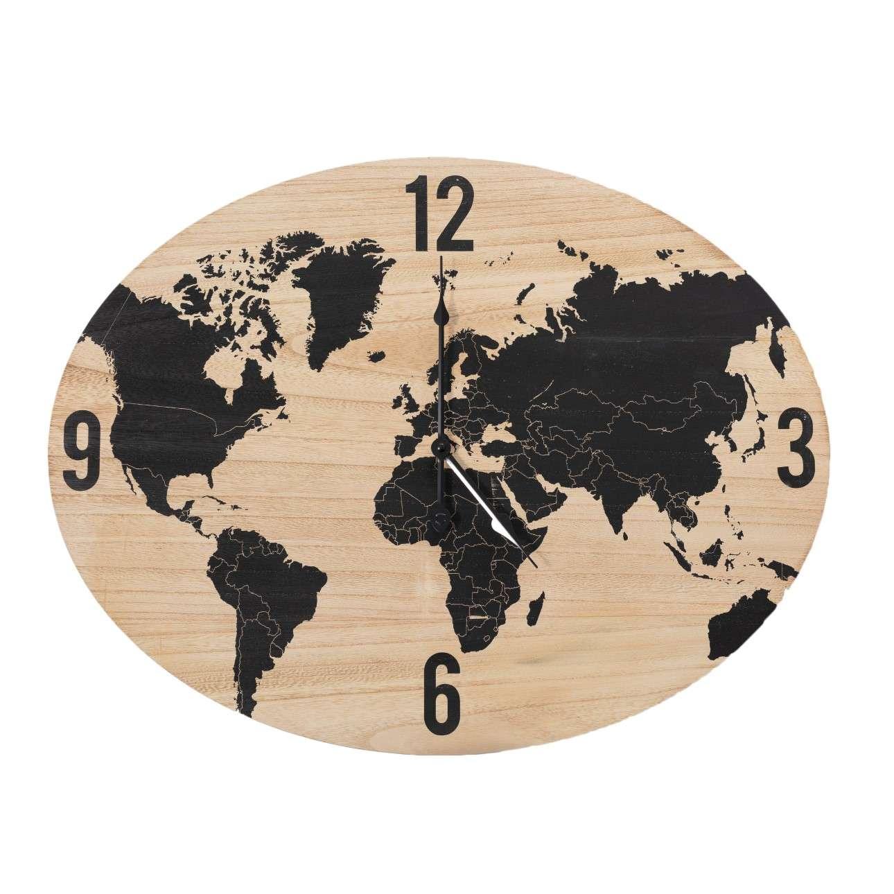 Zegar Globe 64x50cm