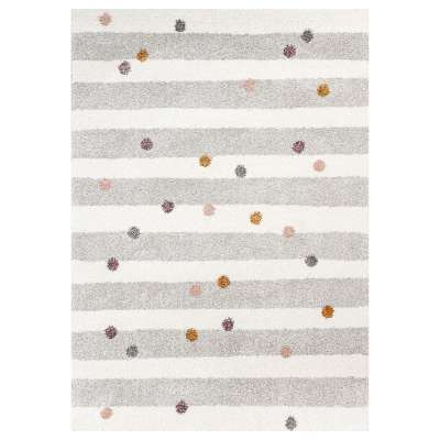 Dywan Stripes and Dots beige 120x170cm