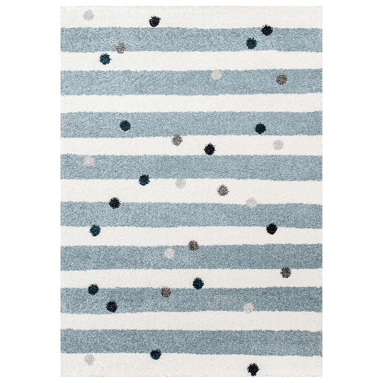Dywan Stripes and Dots blue 120x170cm