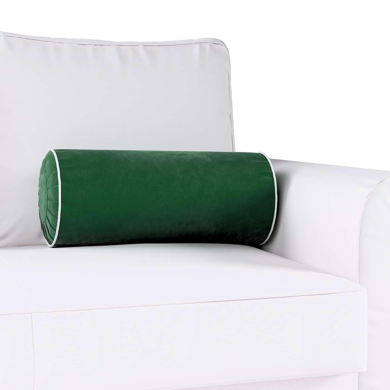 Yoga rolkussen met ingewerkte lus van de collectie Velvet, Stof: 704-13