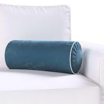 Yoga bolster met ingewerkte lus van de collectie Velvet, Stof: 704-16