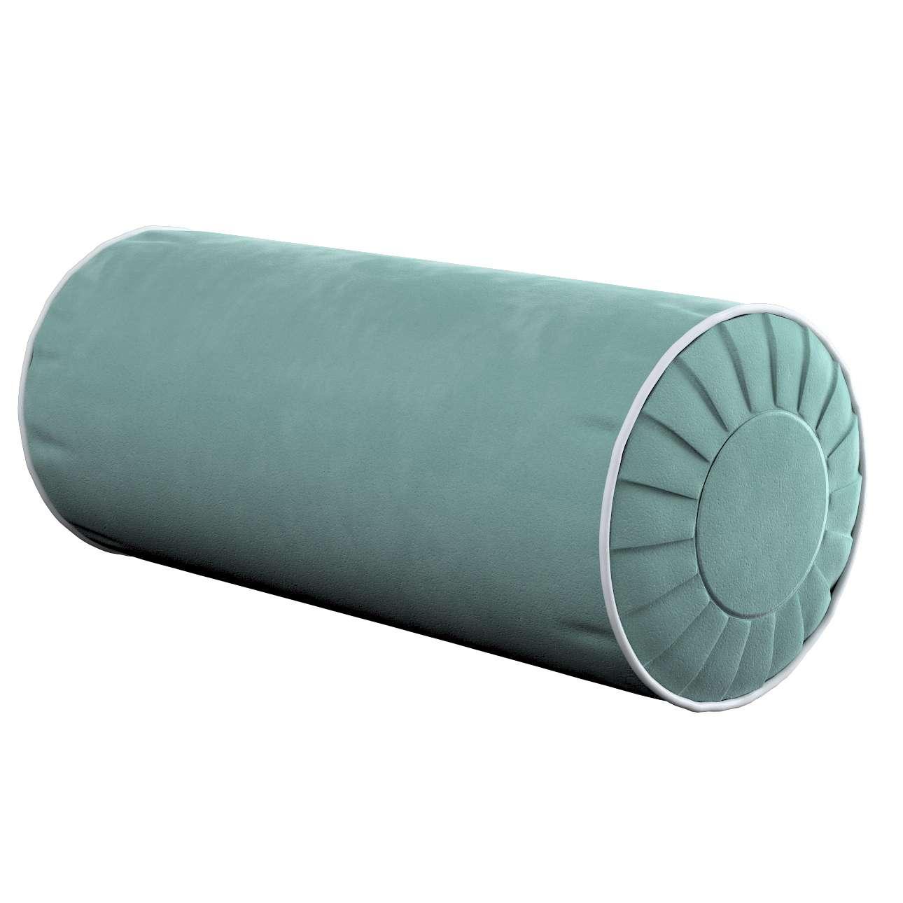 Yoga rolkussen met ingewerkte lus van de collectie Velvet, Stof: 704-18