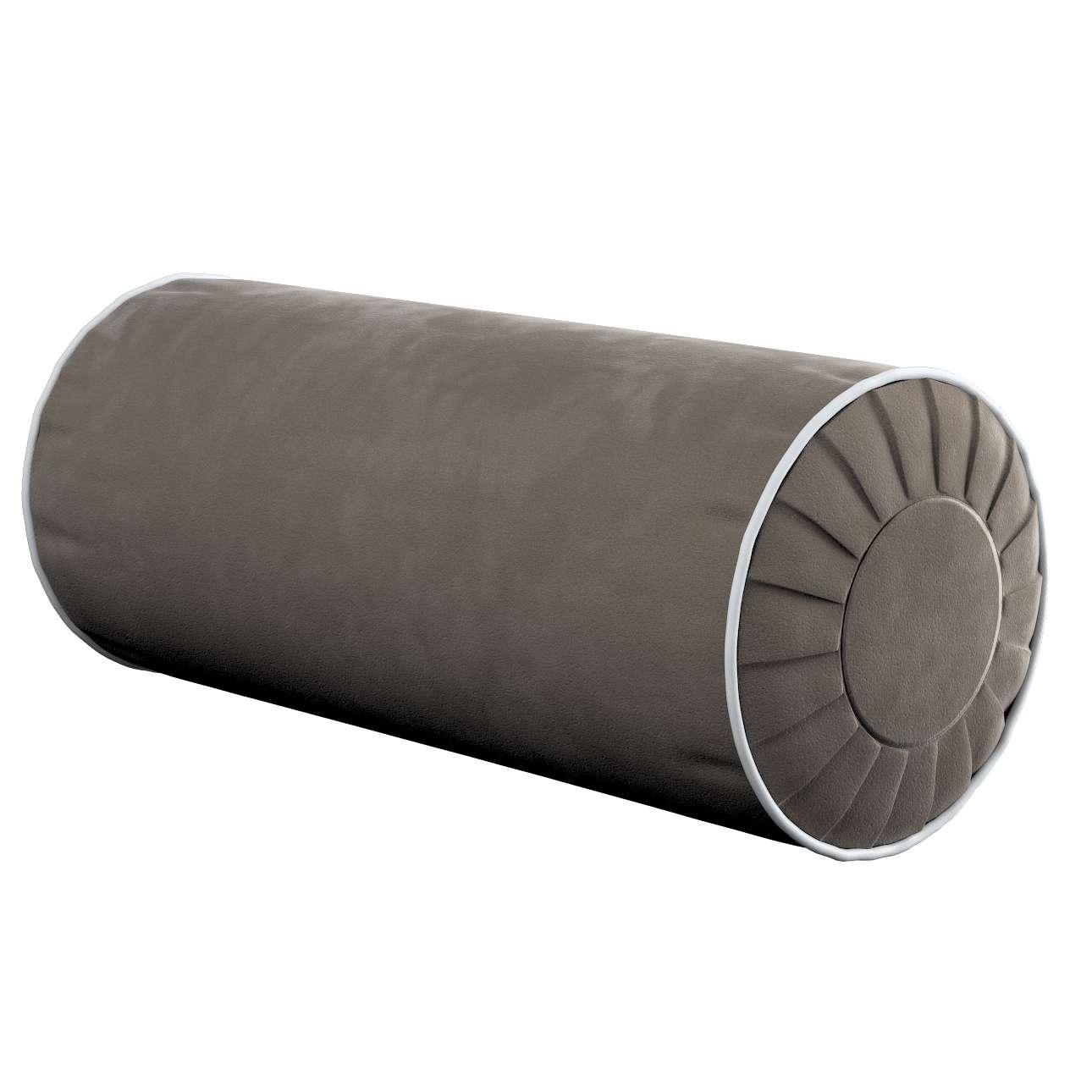 Yoga rolkussen met ingewerkte lus van de collectie Velvet, Stof: 704-19