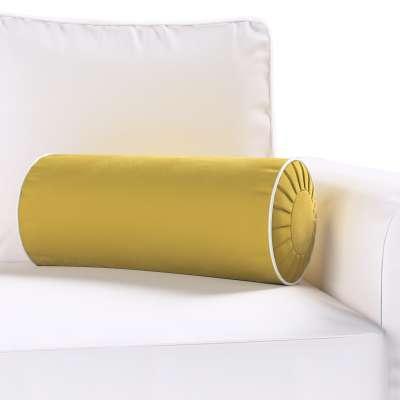 Yoga rolkussen met ingewerkte lus van de collectie Velvet, Stof: 704-27