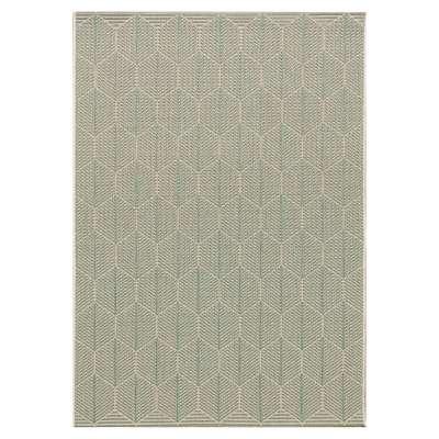 Teppich Cottage wool/spa green 120x170cm