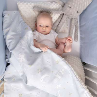 Minky-Babydecke von der Kollektion Magic Collection, Stoff: 500-07