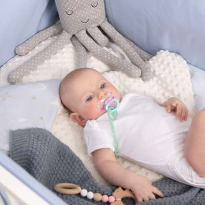 Minky-Babydecke von der Kollektion Magic Collection, Stoff: 500-10