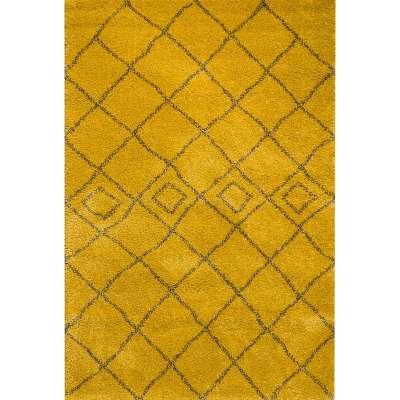 Teppich Royal Mustard/ Grey 200x290cm